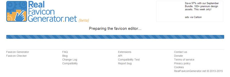 ファビコン表示を一括設定。WordPressプラグイン「Favicon by